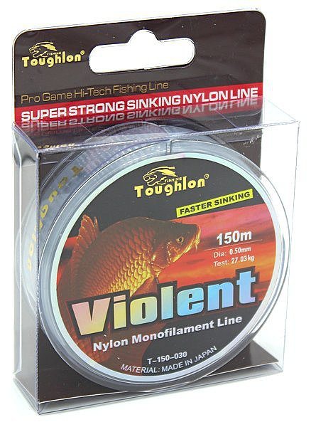 Леска Toughlon Violent 0,50мм 150м