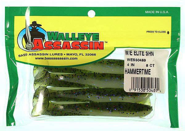 Bass Assassin Walleye Elite Shiner 4""