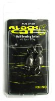 Вертлюг 40мм 175кг Black Cat Ball Bearing Swivel 2шт 6175001