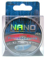 Леска Toughlon Nano Fluorocarbon Coated 0,10мм 30м