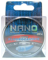Леска Toughlon Nano Fluorocarbon Coated 0,12мм 30м