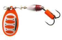 Savage Gear Rotex Spinner 2 # 04-Fluo Orange Silver (42121)