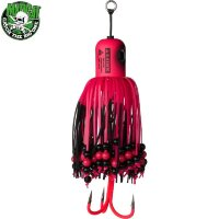 Тизер 100г MADCAT® Clonk Teaser A-Static Treble Hook цвет Fluo Pink UV/66339