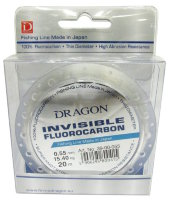леска Fluorocarbon DRAGON INVISIBLE 20 m, 0,55 mm/15,40 kg