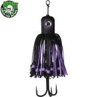 Тизер 100г MADCAT® Clonk Teaser A-Static Treble Hook цвет Black Devil/66337
