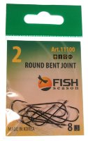 Крючки Fish Season Round Bent Joint с больш. ухом №2