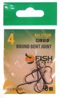 Крючки Fish Season Round Bent Joint с больш. ухом №4