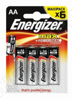 Батарейки Energizer Maximum LR6/E91 AA