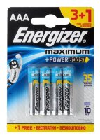 Батарейки Energizer Maximum LR03/E92 AAA (блистер) АКЦИЯ