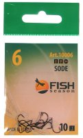 Крючки Fish Season Sode-Ring №6